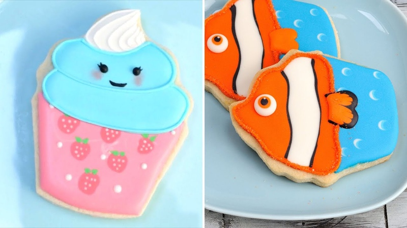 DECORATED CUPCAKE COOKIES IDEAS |Compilation|