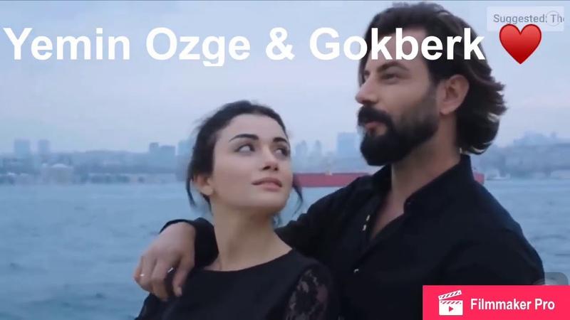 Ozge Gokberk ❤️ Gokberk Latest Pictures senden Sonrasi Yok inanYemin Ozge and Gokberk