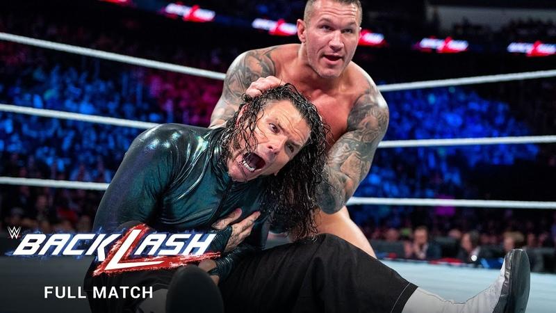 FULL MATCH - Jeff Hardy vs. Randy Orton – United States Title Match WWE Backlash 2018