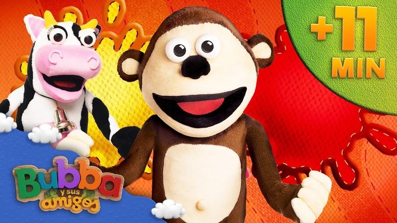 Mix Descubriendo los colores Mono Bubba y sus amigos