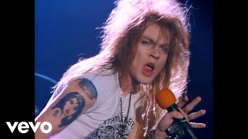 Guns N' Roses Welcome To The Jungle