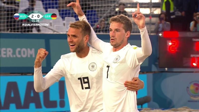 Россия - Германия. Все голы и лучшие моменты.