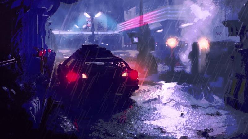 Sami Matar Diode Alley Synthwave Cyberpunk