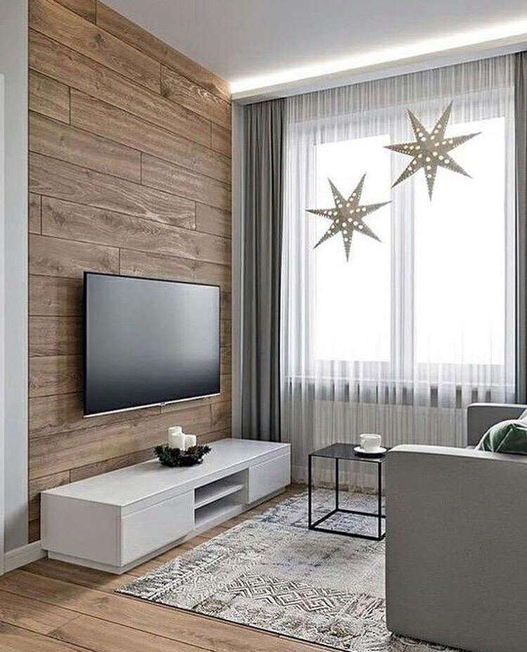 как украсить стену с телевизором фото открыть