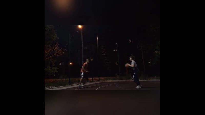 Основная часть занятия по специализаци Баскетбол