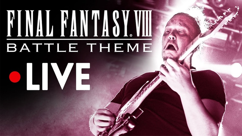 FINAL FANTASY VIII OST Battle Theme LIVE Music from FF8 FFVIII Soundtrack ファイナルファンタジー8バトルテーマライブ