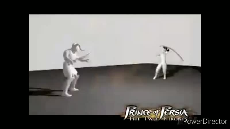 Prince of Persia The Two Thrones Unused Combat Animation for Dark Prince HD