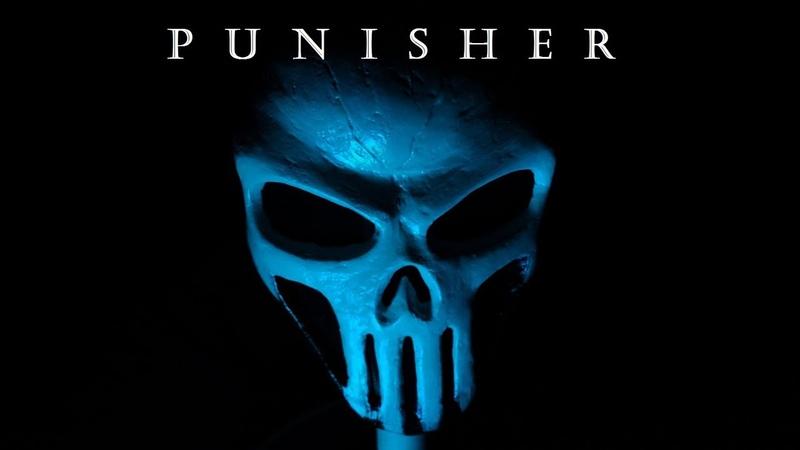 Как сделать маску Карателя / How make mask Punisher