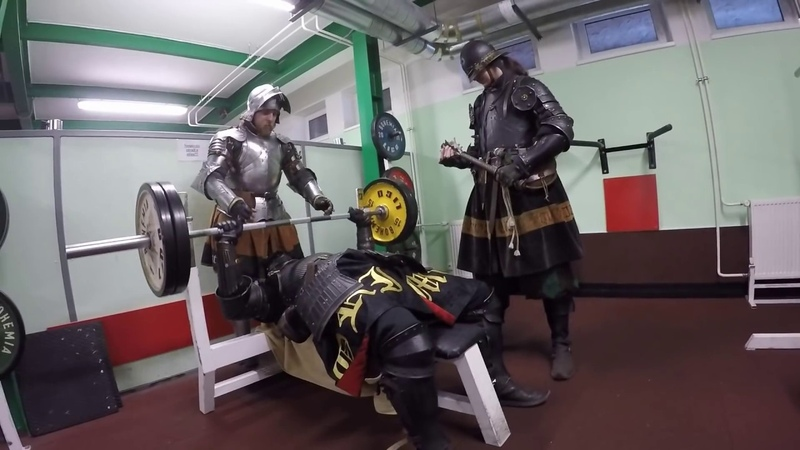 Knights in gym