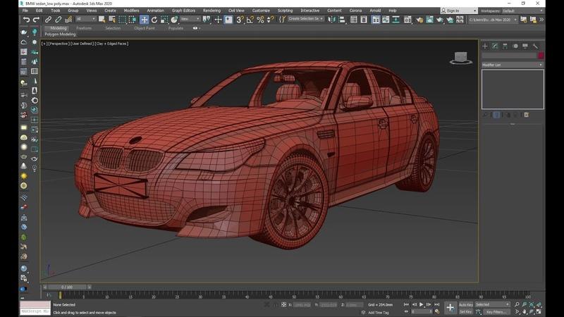 18 3DDDga fayl tayyorlash BMW M5 Material va Render 1 qism