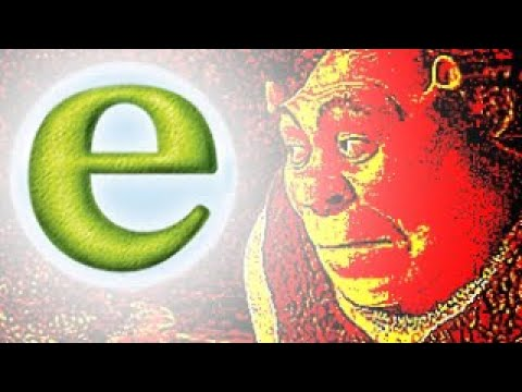 Shrek but only when ANYONE says E