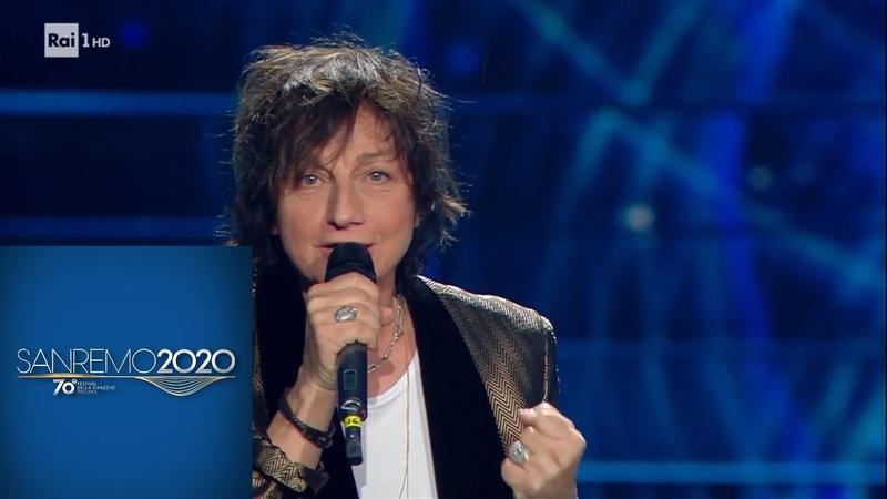 Sanremo 2020 Il medley di Gianna Nannini