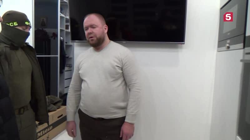 Видео задержания главаря петербургской банды разбойников