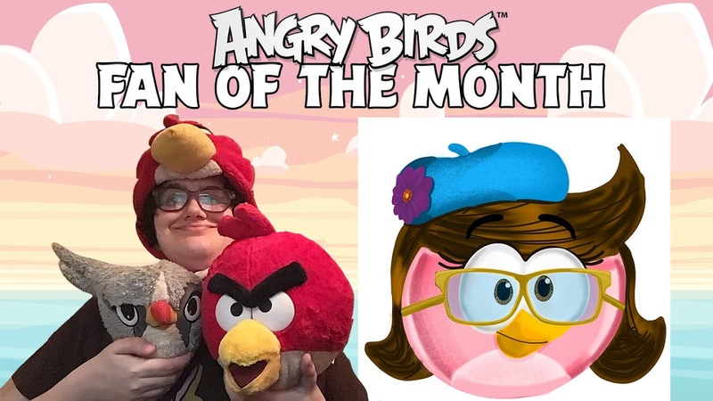 Angry Birds Fan Of The Month Meet Tiffany