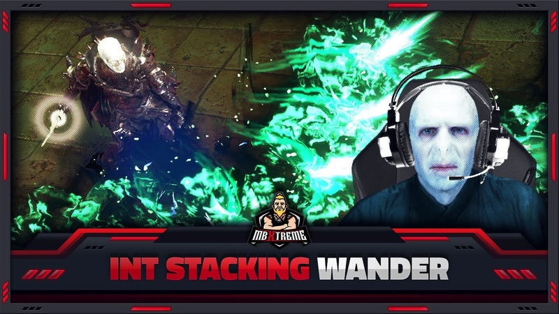 "PATH OF EXILE 3 11 INT STACKING VOLDEMORT"" ASSASSIN WANDER ANOTHER HARVEST FLEX BUILD"
