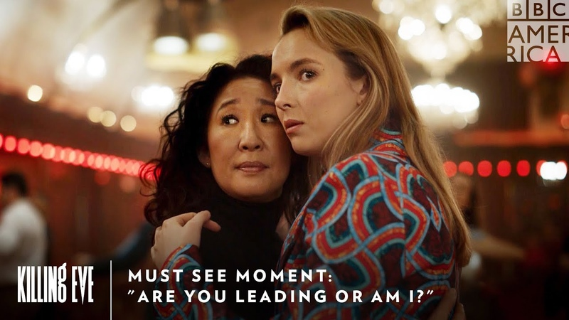 Must See Moment Are You Leading Or Am I Killing Eve Sundays at 9pm BBC America AMC