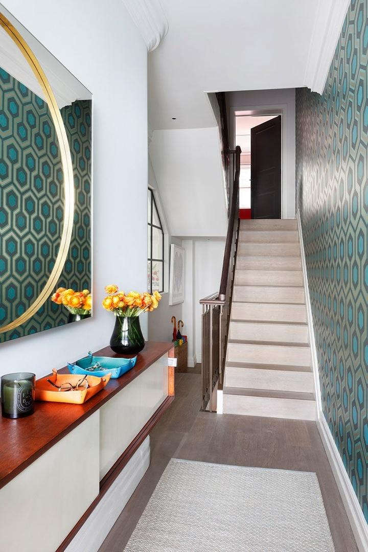 Яркий дизайн дома для семьи в Лондоне    02