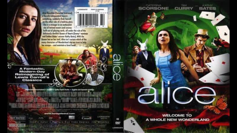 Алиса в стране чудес Трейлер 2009
