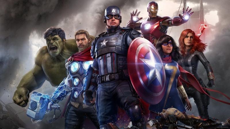 СТРИМ ПРОХОЖДЕНИЕ МСТИТЕЛИ | РАЗНОСИМ ПЛОХИХ ПАРНЕЙ | Marvel The Avangers