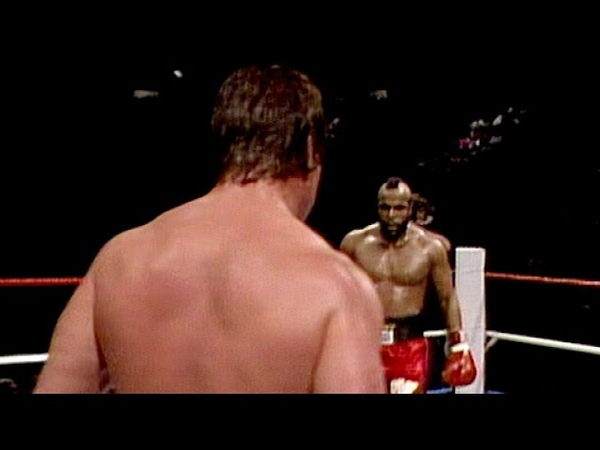 Mr T vs Rowdy Roddy Piper WrestleMania 2 Boxing Match