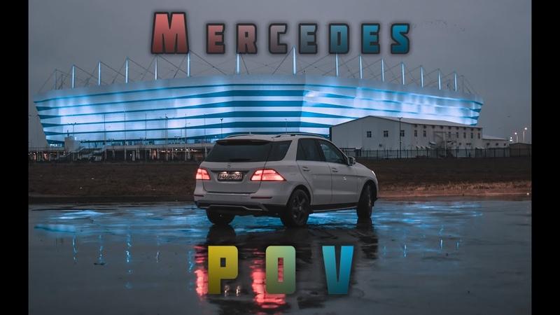 POV Mercedes Benz ML 350 w166 4 matic