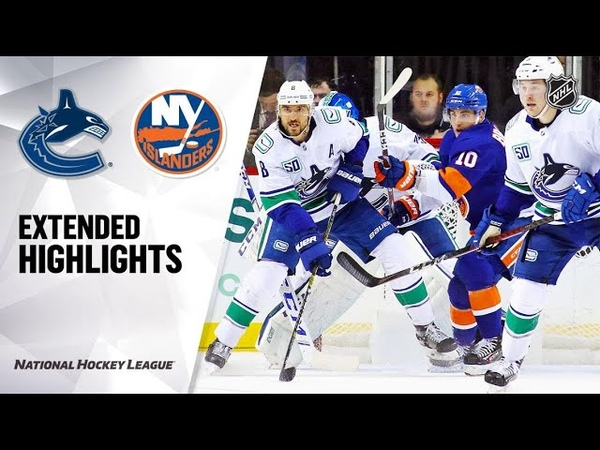 Vancouver Canucks vs New York Islanders Feb 01 2020 Game Highlights NHL 2019 20 Обзор матча