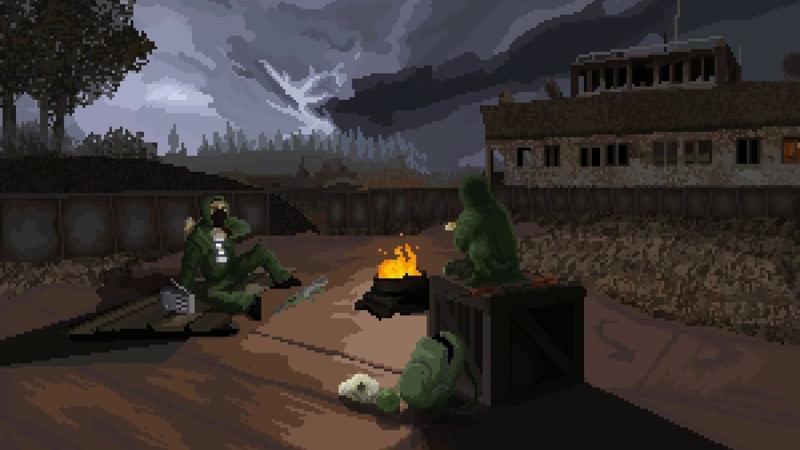 S.T.A.L.K.E.R. - Skadovsk Pixel Animation