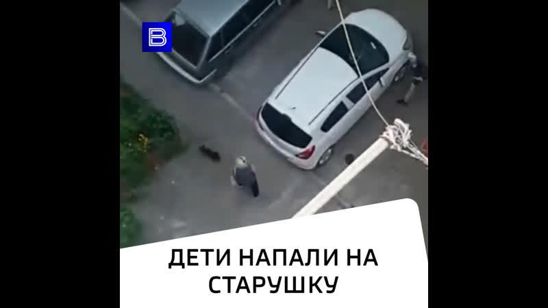 Дети напали на старушку в Ростове на Дону