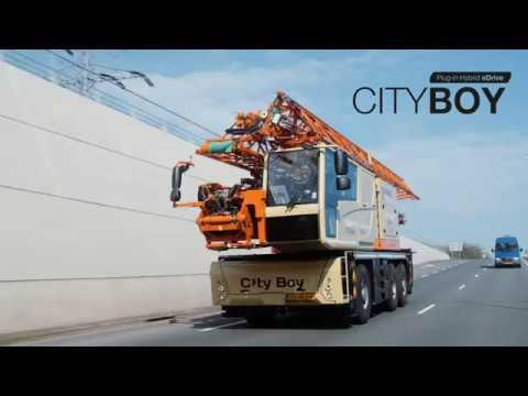 Spierings SK487 AT3 City Boy Plug in hybrid eDrive