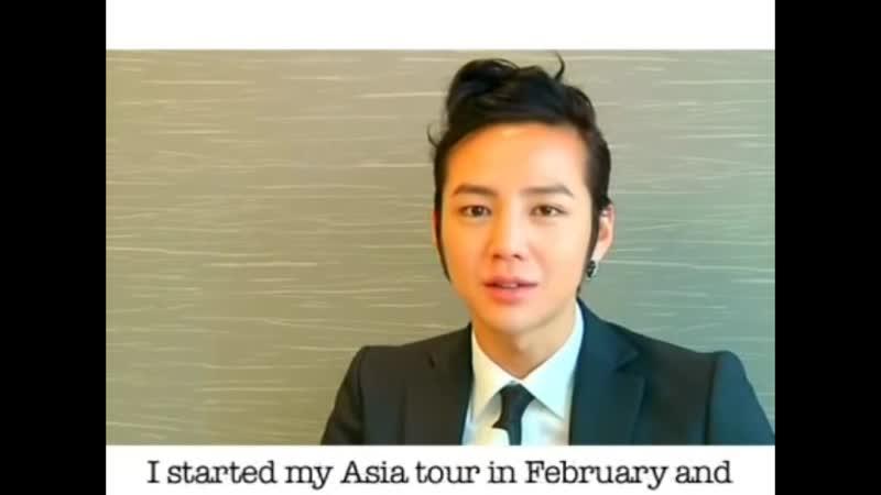 23.04.2010 Jang Keun Suk in Singapore - Press conference.