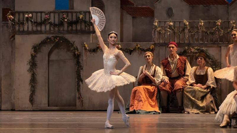 Don Quixote Act III Kitri Variation Akane Takada The Royal Ballet