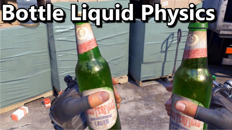 New Bottle Liquid Physics - Half-Life: Alyx