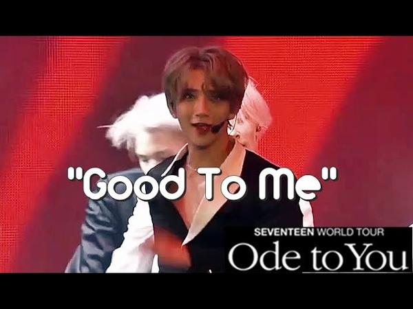 ODE TO YOU DVD SEVENTEEN GOOD TO ME