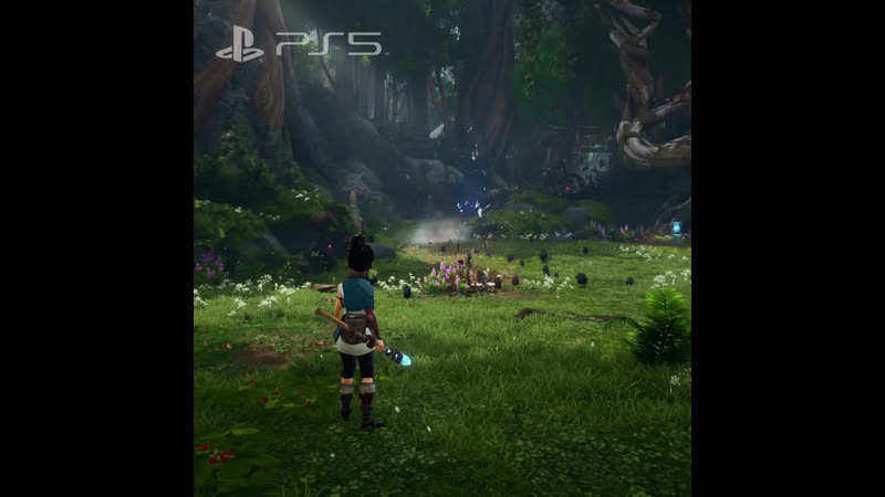 Kena Bridge Of The Spirits Видеоролик с презентации Будущее игр PS5