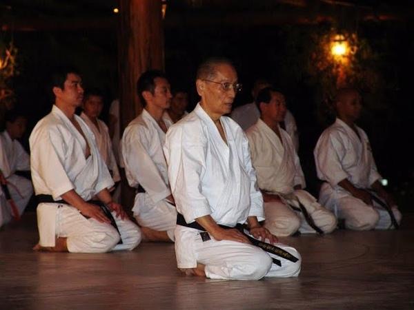 ASAI TETSUHIKO training at hombu dojo