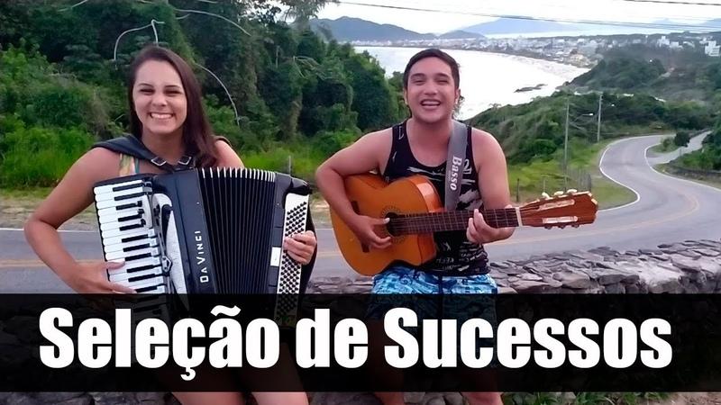 Pout Porri de SUCESSOS de gaita e violão na praia
