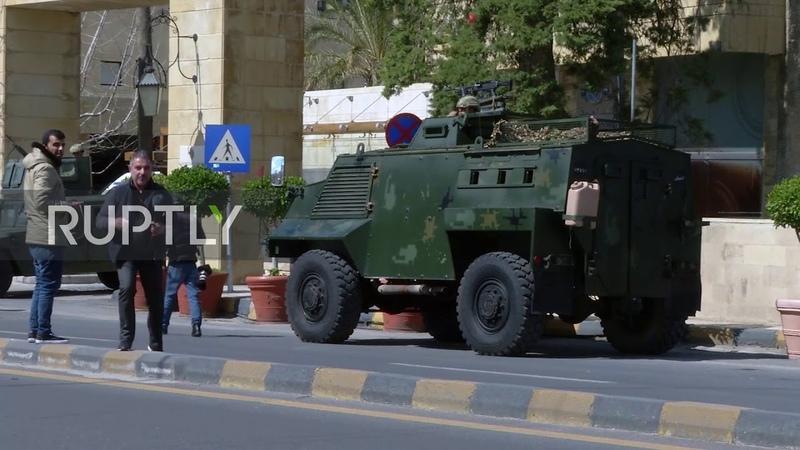 Jordan Army deployed on Amman streets ahead of expected coronavirus lockdown
