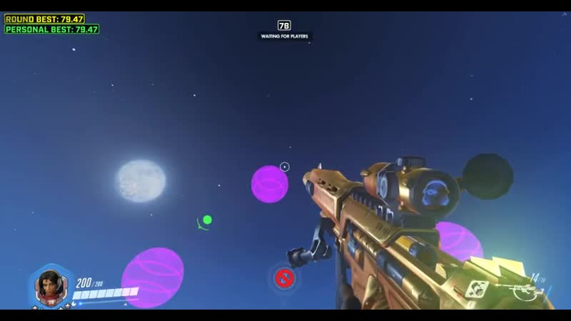 I made a mode in workshop where you need to throw nades at torbj- spheres (B68EK)