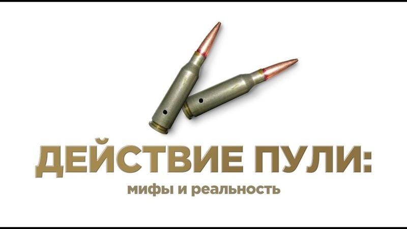 Действие пули мифы и реальность Андрей Уланов Лекторий История оружия 6