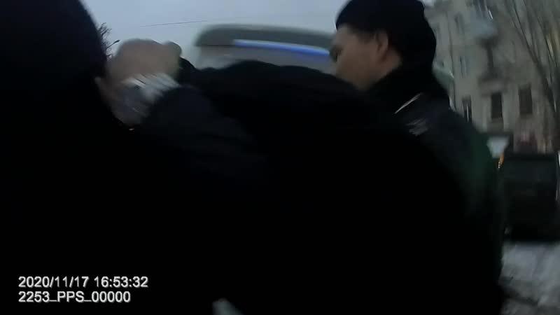Задержание подозреваемых в грабеже