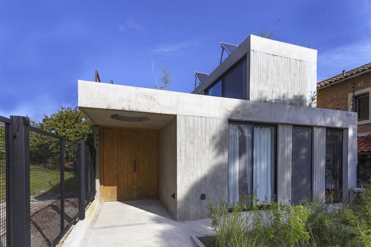 Концепция дома (215 м2), спроектированного студией BAM!