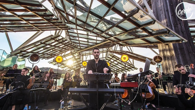 Worakls Orchestra live @ Château La Coste in France for Cercle