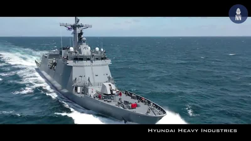 HHI Delivers BRP Jose Rizal Guided Missile Frigate to Philippine Navy