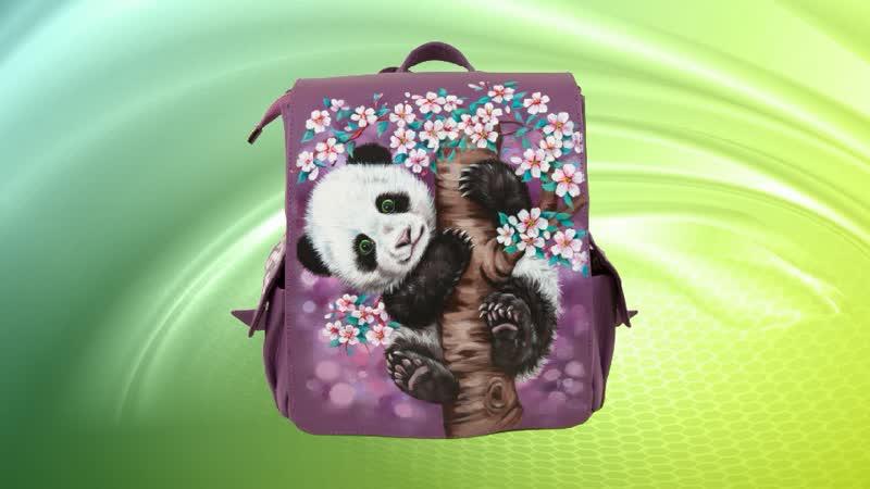 Женский рюкзак Маленькая панда Pelle Volare