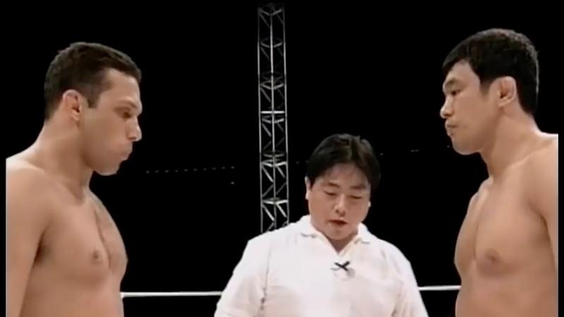 Old School Казуши Сакураба vs Хензо Грейси