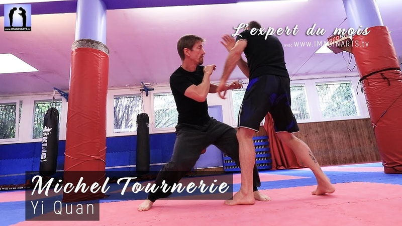YI QUAN applications combat avec Michel Tournerie 意拳