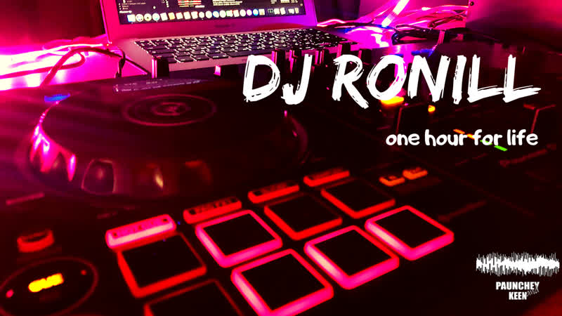 DJ RONILL One Hour For Life | CORONtin Day 5 | Club and Tech House TEST