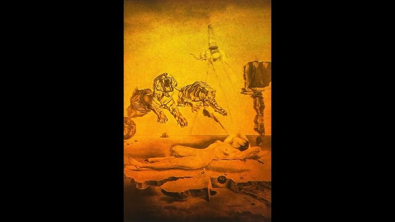 4x6 Salvador Dali Nude Dream Tiger