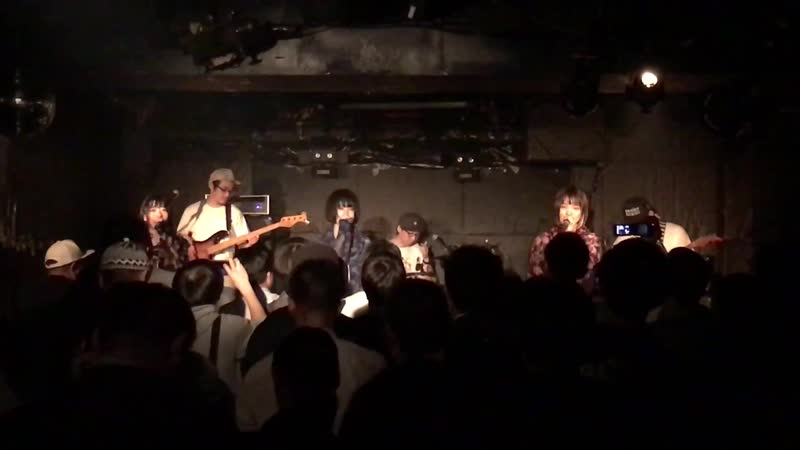 RHYMEBERRY (BAND STYLE) - GOLD RUSH (Live with band in Yotsuya Outbreak) (2018.05.08)