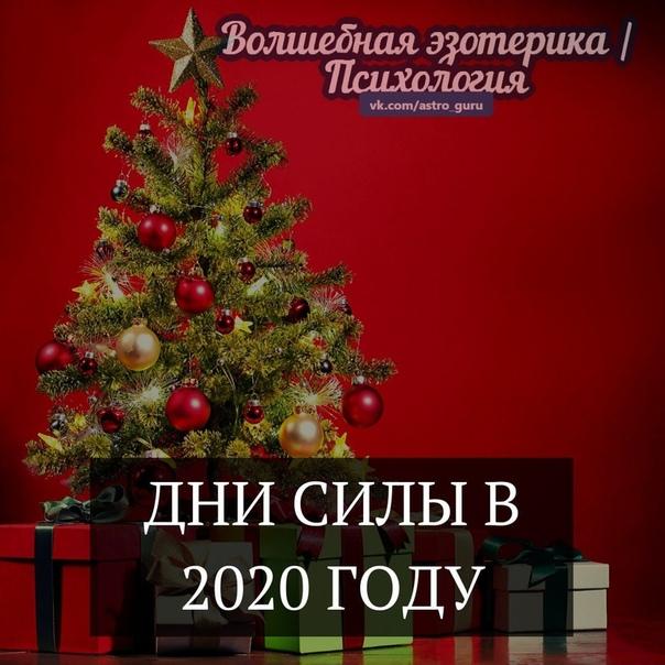 ДНИ СИЛЫ В 2020 ГОДУ